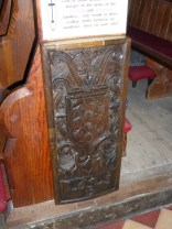 A re-used bench end