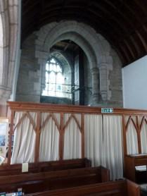 Tywardreath: tower arch