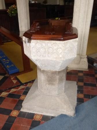 St Clement: the C14 font