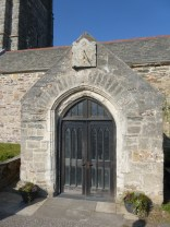 St Columb Minor: porch