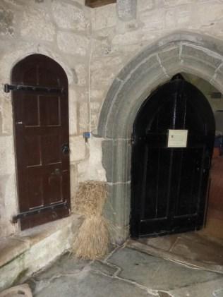 St Enoder: the porch