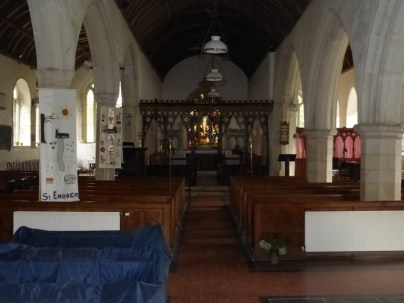 St Enoder: the nave