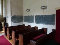 St Ervan: slate memorials