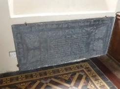 St Ervan: Richard Russell's slate