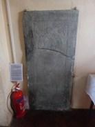 St Ervan: slate memorial