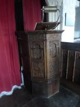St Eval C17 pulpit