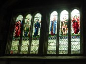 St Germans: the Burne-Jones south window