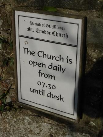 St Enodoc: amen to that!