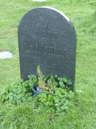 St Enodoc: Sir John Betjeman's grave