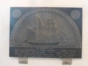 St Enodoc: the Maria Sumpta memorial