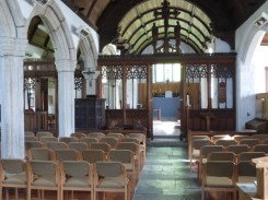 Poundstock: the nave