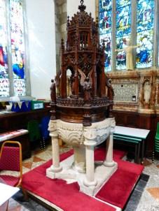 St Austell: baptistery