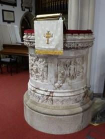 St Austell: C19 pulpit