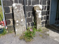 Phillack: the inscribed stone and former cross