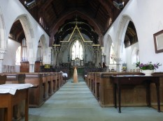 Phillack: the nave