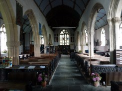 Poughill: the nave
