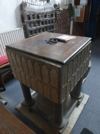 Poughill: the font