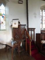 North Tamerton: the pulpit