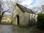 Cotehele: woodland chapel
