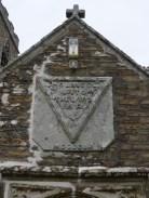 Golant: the porch C19 memorial