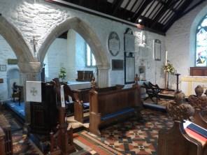Stithians: the chancel