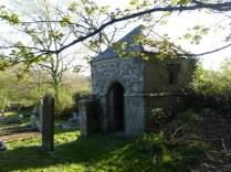 Stithians: the churchyard folly