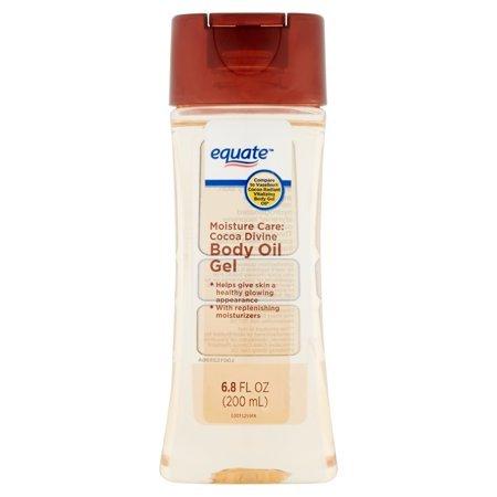 Equate Moisture Care Cocoa Divine Body Oil Gel, 6.8 oz/200ml