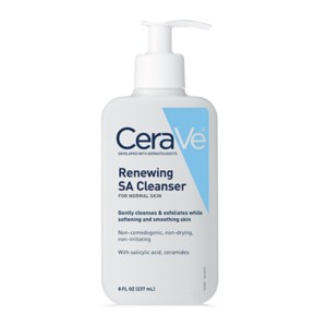 CeraVe Renewing SA Cleanser for Normal Skin, 8fl.oz./237ml