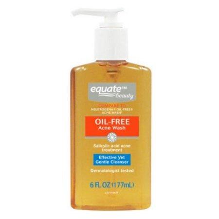 Equate Beauty Oil-Free Acne Wash, 6 fl.oz/177ml