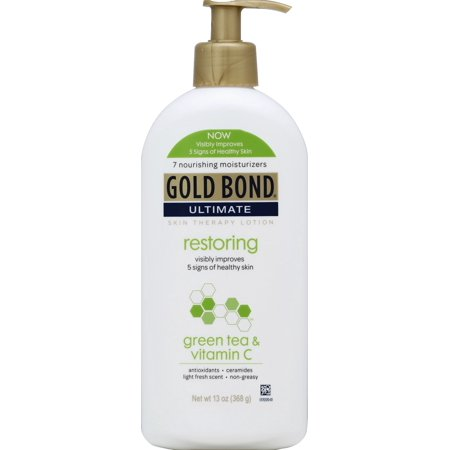 Gold Bond Ultimate Restoring Green Tea & Vitamin C Skin Therapy Lotion 13oz/368g