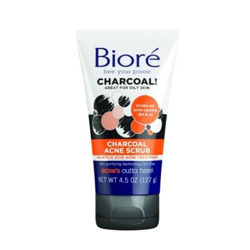Biore Charcoal Acne Scrub 4.5oz/127g
