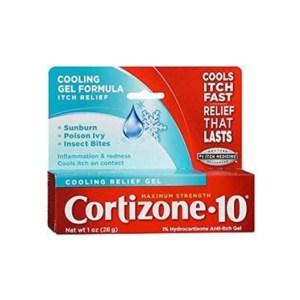 Cortizone 10 Anti-Itch Cooling Relief Gel 1oz./28g.