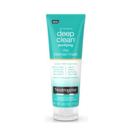 Neutrogena Deep Clean Purifying Clay Face Mask 4.2oz/119g