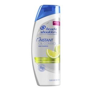 Head and Shoulders Instant Oil Control Paraben Free Anti-Dandruff 2in1 Shampoo & Conditioner 12.8fl.oz