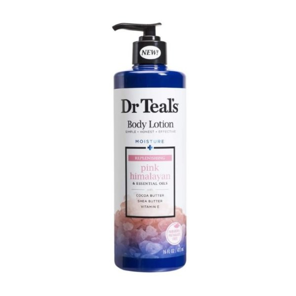 Dr Teal's Body Lotion Pink Himalayan, 16 fl.oz/473ml