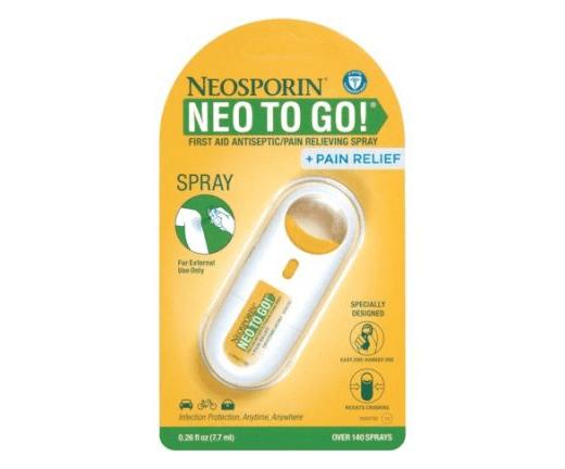 Neosporin Neo To Go! No-touch Spray 0.26 fl.oz/7.7ml