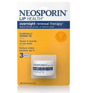 Neosporin Lip Health Overnight Renewal Therapy 7.7g