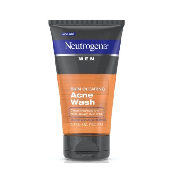 Neutrogena Men Skin Clearing Salicylic Acid Acne Face Wash 5.1 fl.oz/150ml
