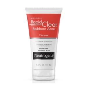Neutrogena Rapid Clear Stubborn Acne Cleanser 5fl.oz/147ml