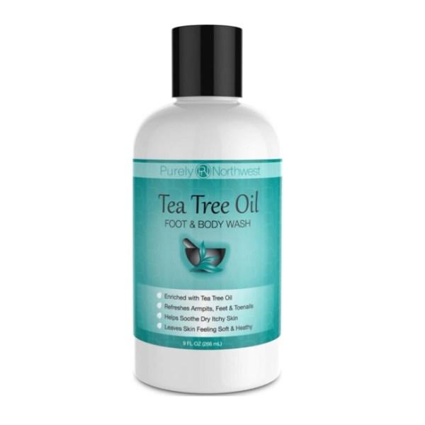 Purely Northwest Tea Tree Oil Foot & Body Wash 9fl.oz/266ml