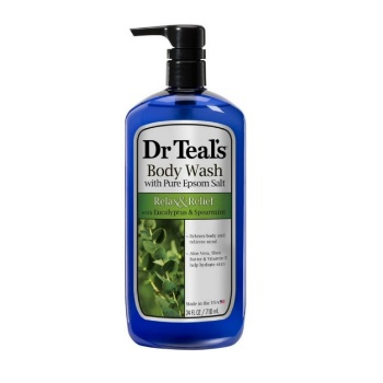 Dr Teal's Body Wash, Relax & Relief with Eucalyptus & Spearmint 24 fl.oz/710ml