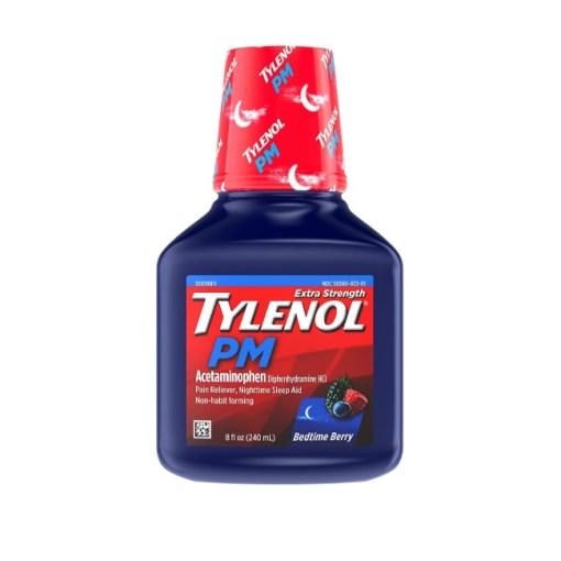 Tylenol PM Bedtime Berry 8fl.oz/240ml