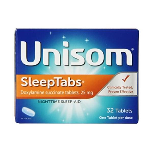 Unisom Sleep Tabs, Nighttime Sleep Aid, 32 Tablets