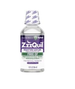 Vicks ZzzQuil Nighttime Sleep Aid Liquid, FREE OF Alcohol & Artificial Dyes, 12fl.oz/354ml