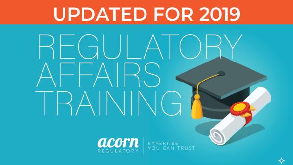 regulatory affairs training courses - Acorn Regulatory