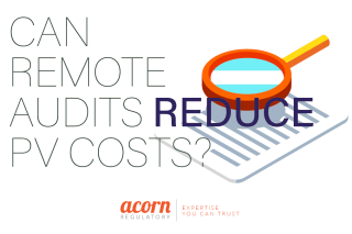 Can Remote Audits Reduce PV Costs Acorn Regulatory