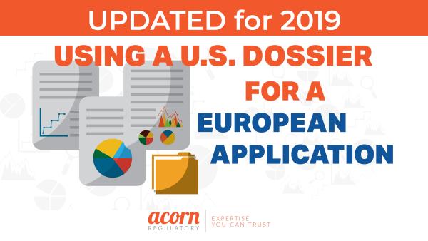 Using A U.S. Dossier for a European MA Application