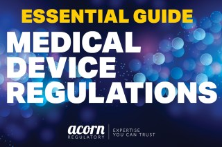 Essential Guide To MDR from Acorn Regulatory