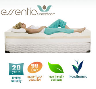 World S Only Natural Memory Foam What Makes Me Think Essentia Mattresses