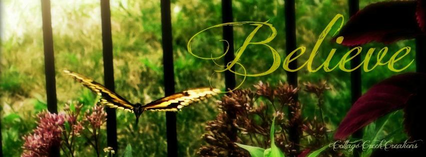 Butterfly Believe, signed